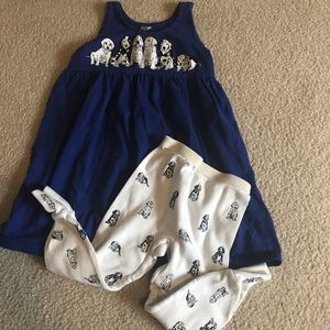 Other - Cute little girls jumper and leggings.